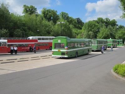 A selection of NBC buses await your custom.....