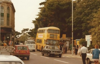 The first of two 'non NBC' journeys of the day, Bournemouth Corporation's 'Yellow Buses' take me to the rail station.